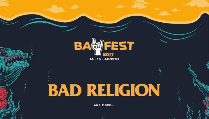 Annunciato il secondo headliner del Bay Fest: sono i BAD RELIGION!