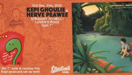 Split in 7″ a tema Clash per KEPI GHOULIE e HERVE PEAWEE