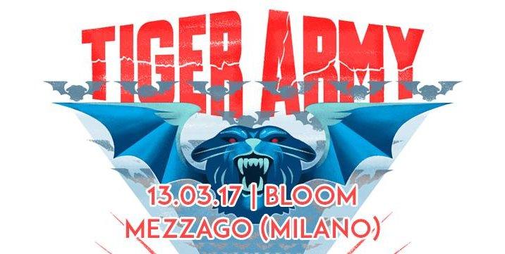 TIGER ARMY in Italia a marzo