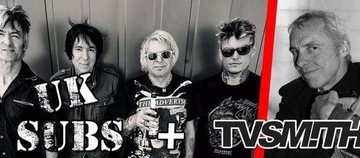 UK Subs + TV Smith!!! (10/02/16 Decibel, Magenta)