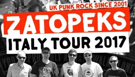 Inizia il tour italiano degli Zatopeks!