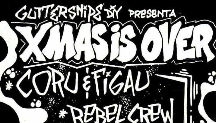 XMAS IS OVER!! (Circolo Anarchico Ponte della Ghisolfa, 14/01/17)