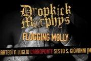 Dropkick Murphys + Flogging Molly insieme sul palco del Carroponte!