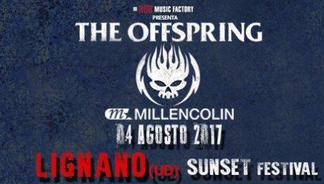 Offspring + Millencolin al Sunset Festival di Lignano Sabbiadoro!