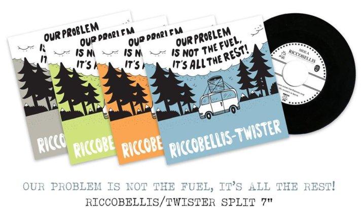 Nuovo split 7″ Twister/Riccobellis!