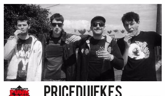 PRICEDUIFKES aggiunti al Punk Rock Raduno