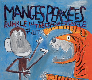 Nuovo split per The Manges/The Peawees!