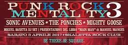 PUNK ROCK MENTALITY 3 sabato alla Skaletta di La Spezia