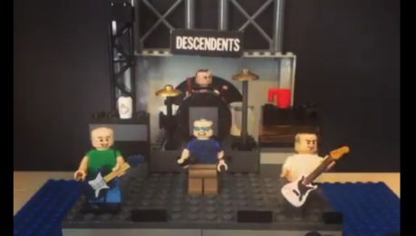 LEGO STOP MOTION per i DESCENDENTS