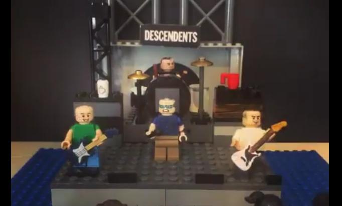 LEGO STOP MOTION per i DESCENDENTS