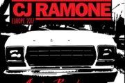 CJ RAMONE tra poco in Italia per tre date