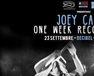 JOEY CAPE -5 giorni