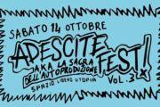 PRE-ADESCITE e ADESCITE FEST! vol.3 a Genova