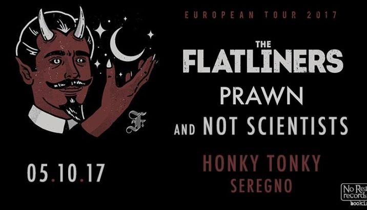 THE FLATLINERS questa settimana sul palco dell'Honky Tonky