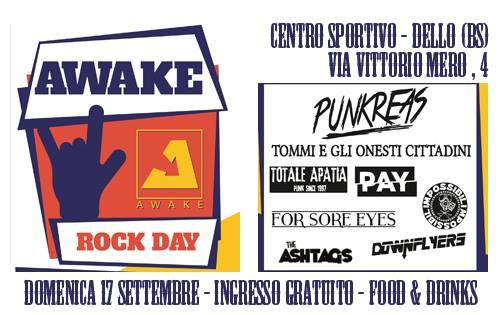 1 st AWAKE ROCK DAY (17/9 Dallo, BS)