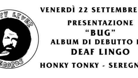 Debutto per i Deaf Lingo sulla neonata Fatty Liver Records