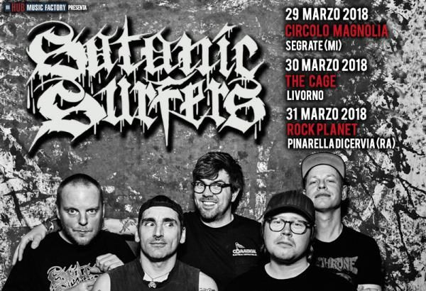 SATANIC SURFERS: tre date in Italia a Marzo