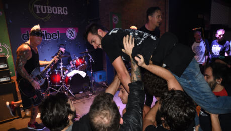 Sick Of It All+Overcharge+This Fall+The Vega Brothers@Decibel (Magenta, 08/11/17)