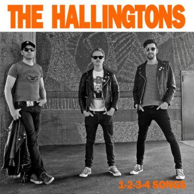 THE HALLINGTONS: 1-2-3-4 Songs 7″