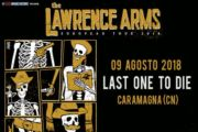 LAWRENCE ARMS in Italia ad Agosto