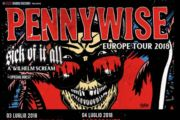 PENNYWISE, SICK OF IT ALL e A WILHELM SCREAM in Italia a luglio per due date