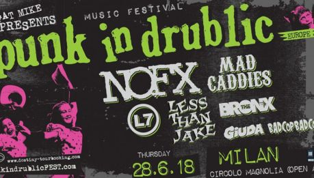 PUNK IN DRUBLIC: aggiunti i Less Than Jake!