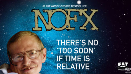NOFX: ascolta il brano dedicato a Stephen Hawking!