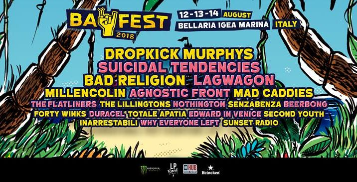 BAY FEST 2018: line up completa