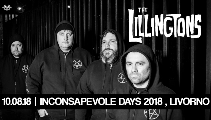 THE LILLINGTONS all'Inconsapevole Days di Livorno