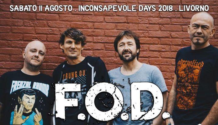 F.O.D. confermati per l'Inconsapevole Days 2018
