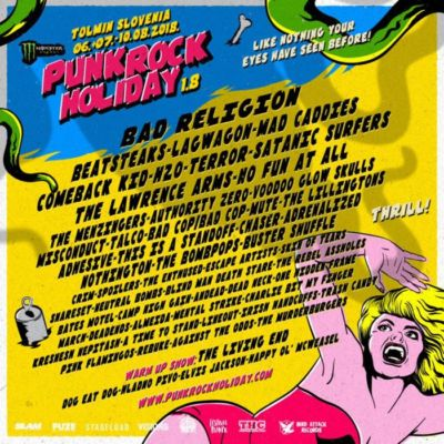PUNK ROCK HOLIDAY 2018 – LIVE REPORT GIORNO UNO: LINEOUT – THE MENZINGERS – TERROR – MAD CADDIES