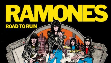 "RAMONES: deluxe edidion di ""Road To Ruin"""