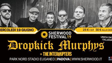 DROPKICK MURPHYS e INTERRUPTERS in Italia a giugno