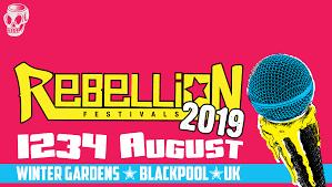 REBELLION FESTIVALS 2019: primi annunci