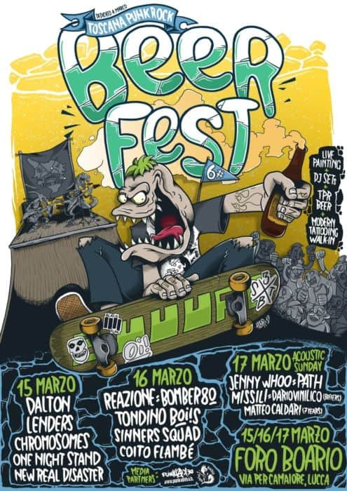 Toscana Punk Rock Beer fest