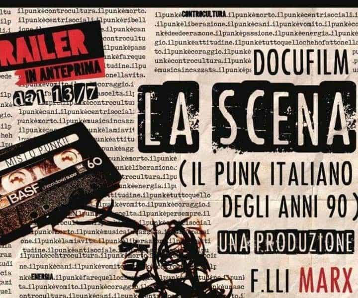 La Scena: il documentario sul punk italiano anni 90