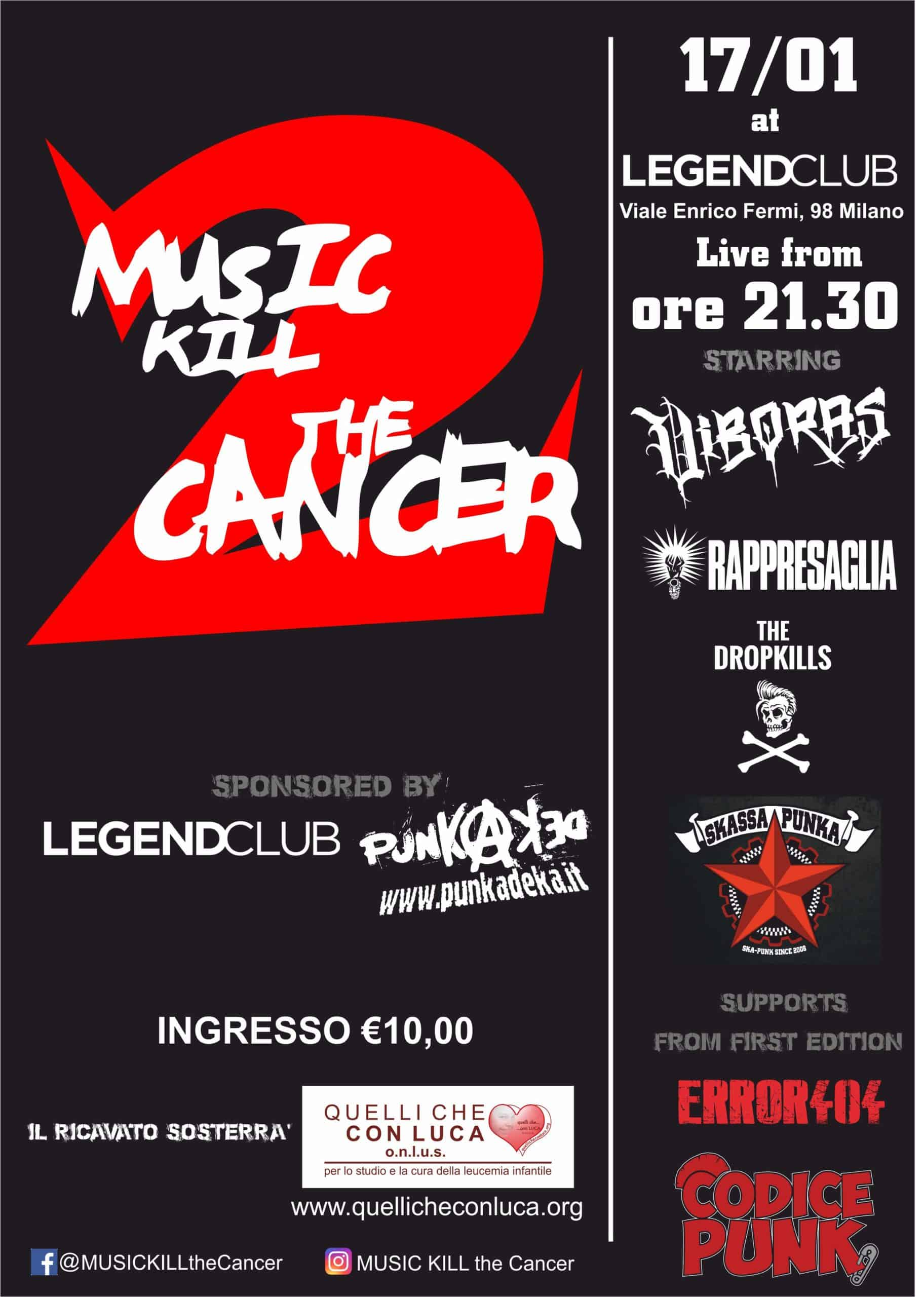 MUSIC KILL the Cancer