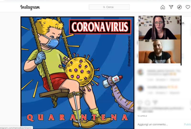 Covid-19 e copertine punk: intervista a Marco Divertimenti
