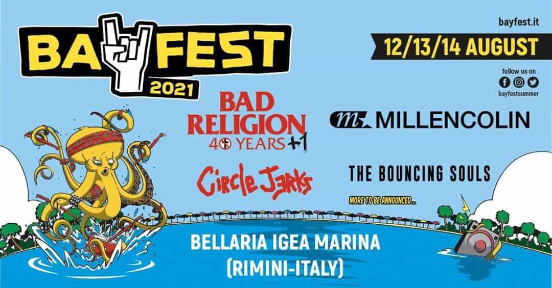MILLENCOLIN al Bay Fest 2021 - Punkadeka - Punk web magazine