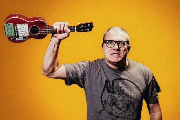 MILO AUKERMAN (DESCENDENTS): Ep Anti-Trump in 7""
