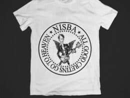 T-SHIRT IN MEMORIA DI NISBA (THE LIVERMORES)