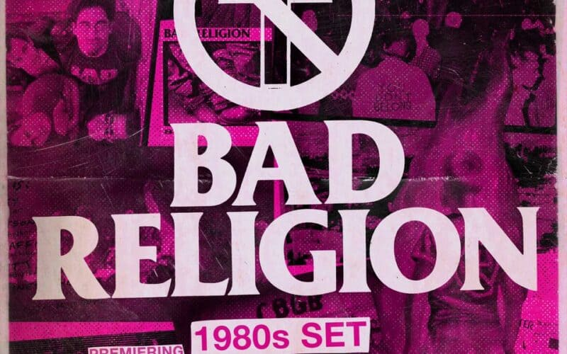 BAD RELIGION - The decades: 80s